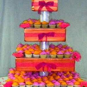 Orange & Pink Wedding