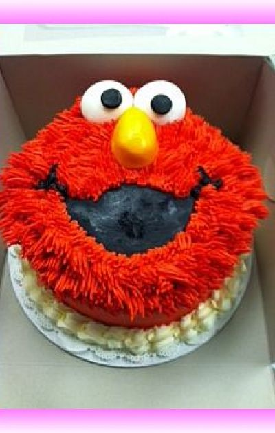 Elmo Cake
