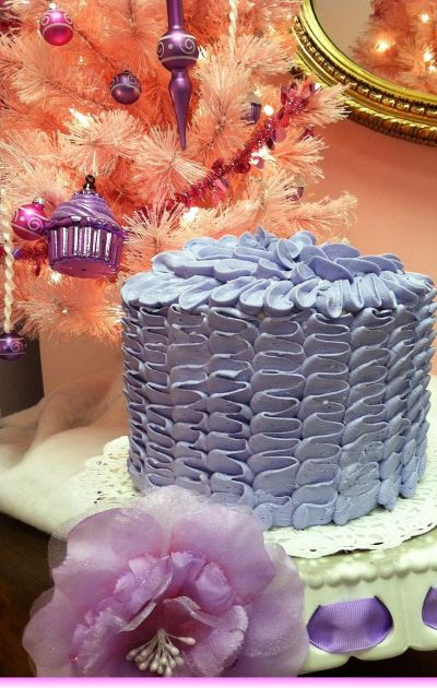 Hat Box Cake